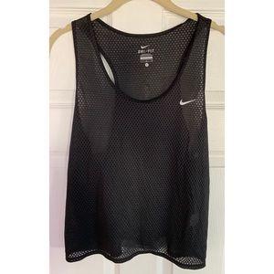 Nike dri-fit tank in black